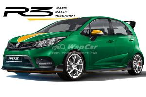 Rendered: Is a 2021 Proton Iriz R3 in the making? 30% performance boost?