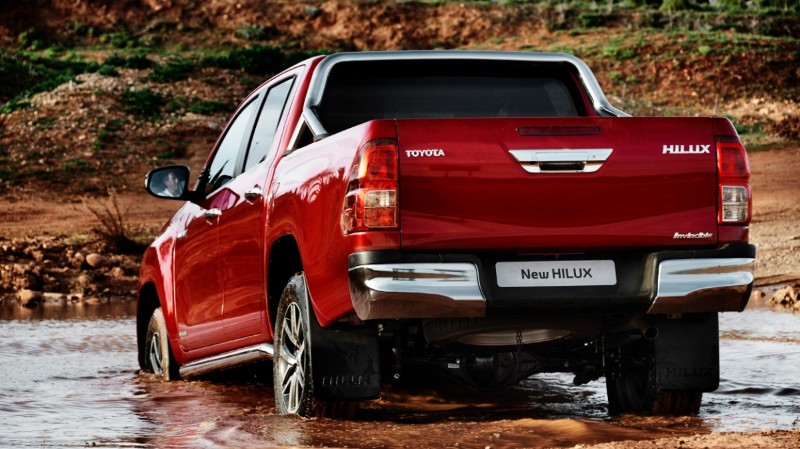 The Toyota Hilux's A-TRC