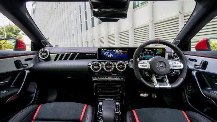 2020 Mercedes-Benz AMG CLA 45 S Interior 001