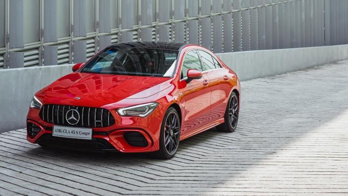 2020 Mercedes-Benz AMG CLA 45 S Exterior 004