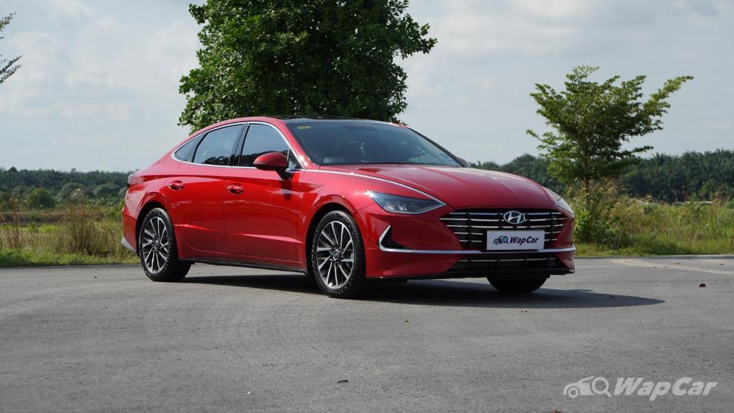 2020 Hyundai Sonata 2.5 Premium Exterior 011