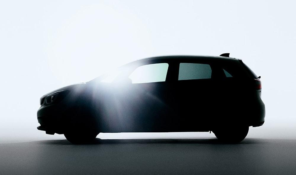 Sneak peak of the all-new Honda Jazz 01