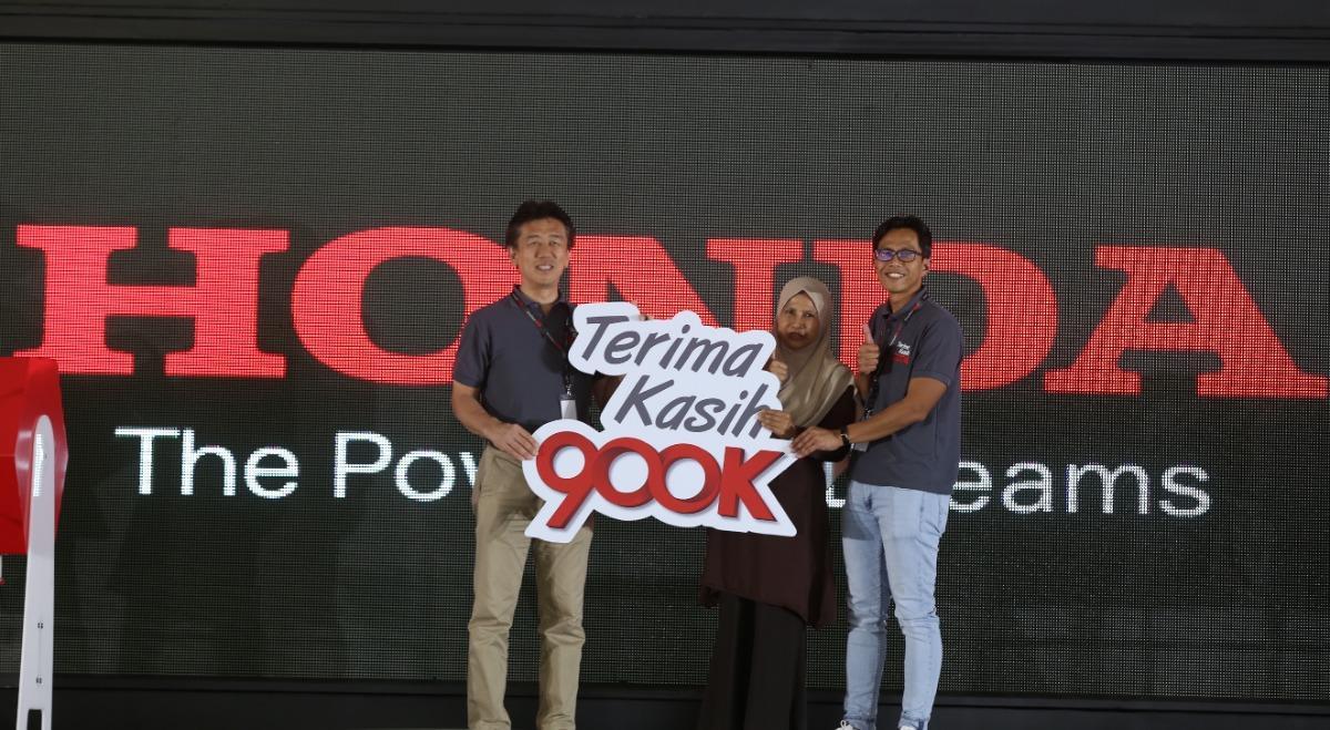 Honda 900k Milestone campaign finale
