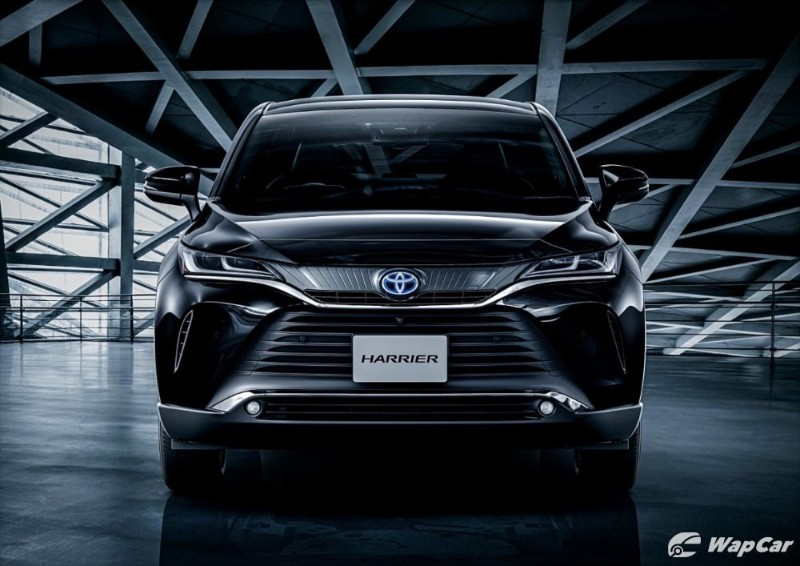 All-new 2021 Toyota Harrier to get Frontlander twin in China? 02