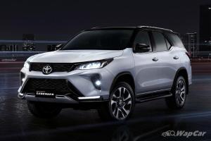 Toyota Fortuner facelift 2021 diacah, dibuka untuk tempahan!