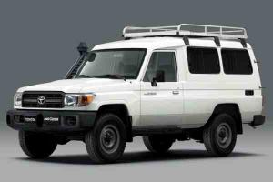 This Toyota Land Cruiser is the only WHO-approved Covid-19 vaccine refrigerated truck