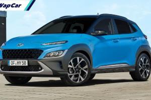 Hyundai Kona facelift 2021 bakal dilancarkan di Malaysia tahun ini juga, sekali dengan enjin baru?