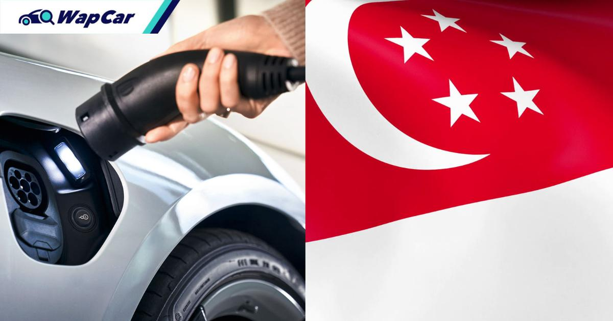 Singapore banks push for EVs, property developers to install EV charging points 01