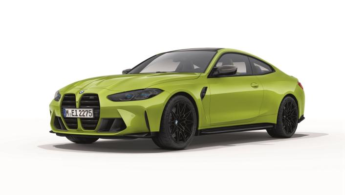 2021 BMW M4 Competition Coupe Exterior 001