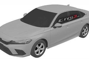 Intipan: 2022 Honda Civic sedan generasi baru. Baby Accord?