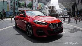 2020 BMW 2 Series 218i Gran Coupe Exterior 003