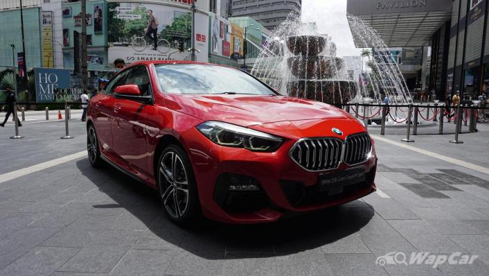 2020 BMW 2 Series 218i Gran Coupe Exterior 003
