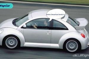 Setiap VW Golf R dan hot hatch dari Eropah perlu berterima kasih ke atas VW Beetle dengan enjin V6 220 PS!