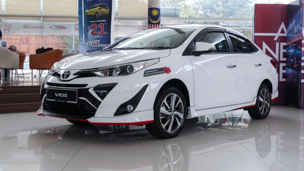 2019 Toyota Vios 1.5G Exterior 001