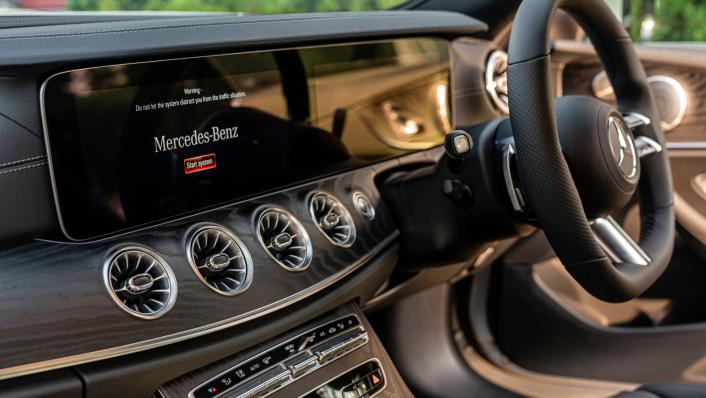 2021 Mercedes-Benz E-Class Coupe E300 AMG Line Interior 010