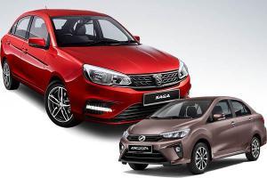 Proton Saga outsells Perodua Bezza and Proton Persona leads B-segment sedan market!