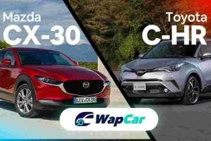 2020 Mazda CX-30 vs. Toyota C-HR comparison, why not a Honda CR-V?