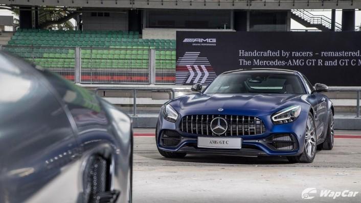 2019 Mercedes-Benz AMG GT C Exterior 003