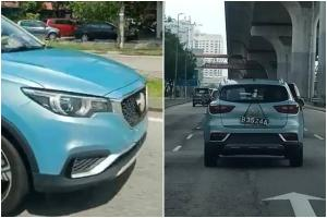 Spied: 2021 MG ZS EV spotted testing in Malaysia - launching next year?