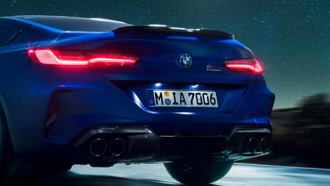 2020 BMW M850i xDrive Coupe Exterior 025