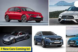 New Golf GTI, Sorento and E-Class; 7 new released models coming to Malaysia!