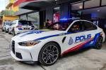 BMW M3 police car isn't a movie prop after all, but it's still not a police car. Here's why