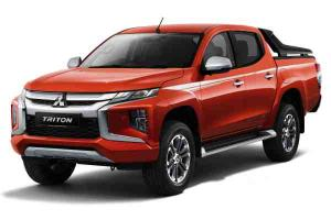 2020 Mitsubishi Triton Adventure X new colour option reminds us of the Ferrari F1 team's livery