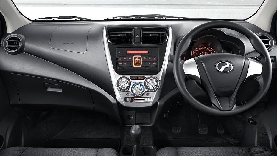 Perodua Axia (2018) Interior 001