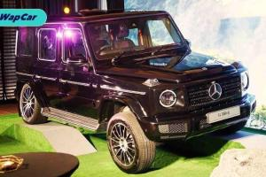 Mercedes-Benz G-Class 2020 dipertonton dengan enjin diesel, bermula RM 999,888
