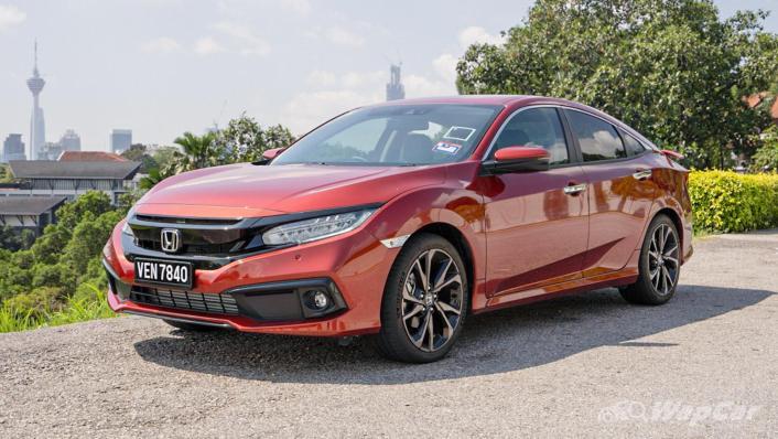 2020 Honda Civic 1.5 TC Premium Exterior 001