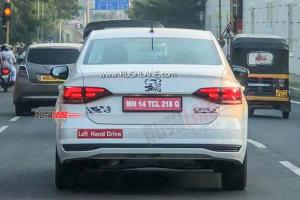 Spied: Volkswagen Virtus caught testing in India, Vento replacement for Malaysia?