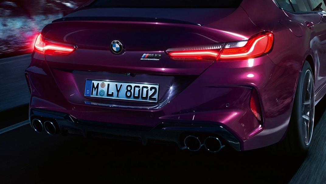 2020 BMW M850i xDrive Gran Coupe Exterior 023