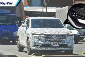Honda HR-V 2021 bakal guna tombol gear 'rotary knob'?
