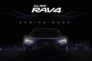 Teaser pertama RAV4 dari UMW Toyota, bakal dilancarkan di Malaysia - enjin Dynamic Force?