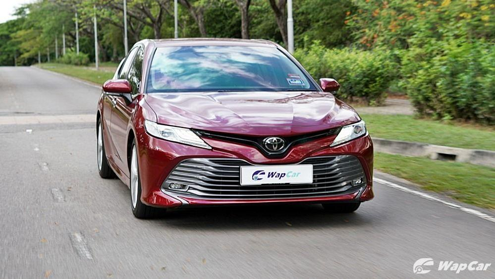 2019 Toyota Camry 2.5V Exterior 062