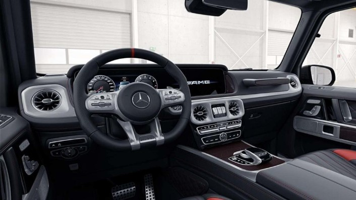 Mercedes-Benz AMG G-Class (2019) Interior 010