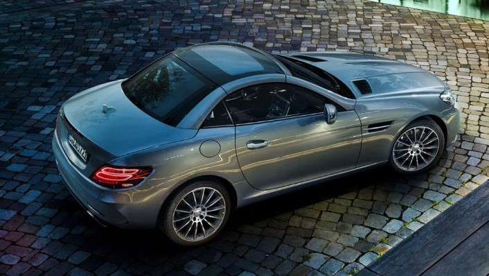 Mercedes-Benz SLC (2018) Exterior 009