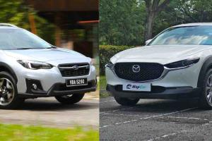 Mazda CX-30 vs Subaru XV – Want to buy a compact SUV that also drives well? Look no further