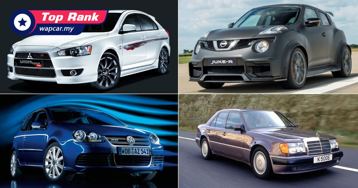 11 unexpectedly normal-looking cars with huge engines 01