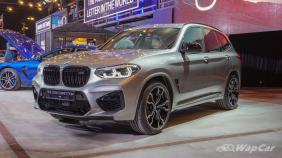 2020 BMW X3 M Competition Exterior 001
