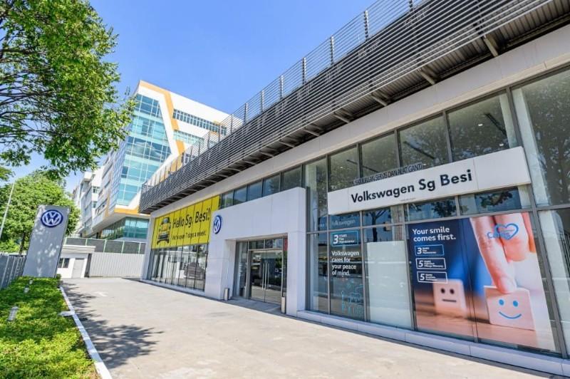 GVE Asia takes over Wearnes' VW dealership in Sg Besi 02