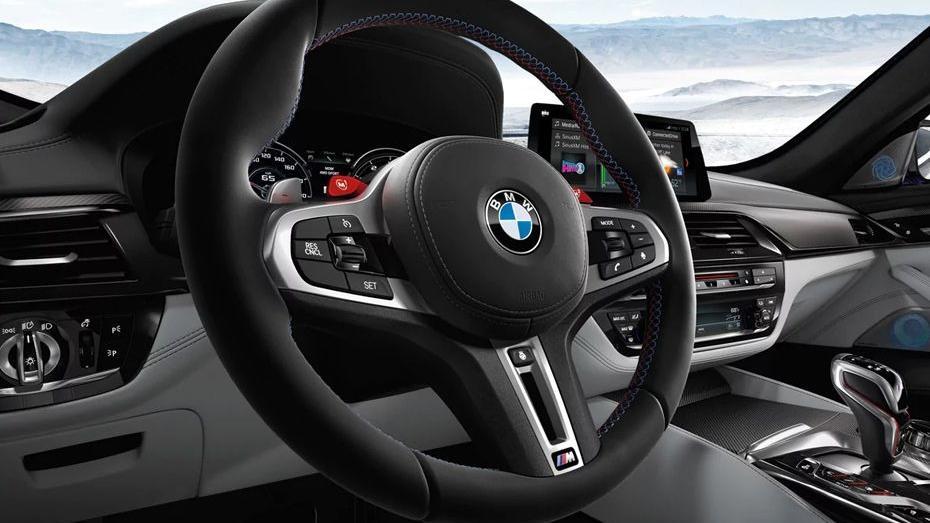 BMW M5 (2019) Interior 002