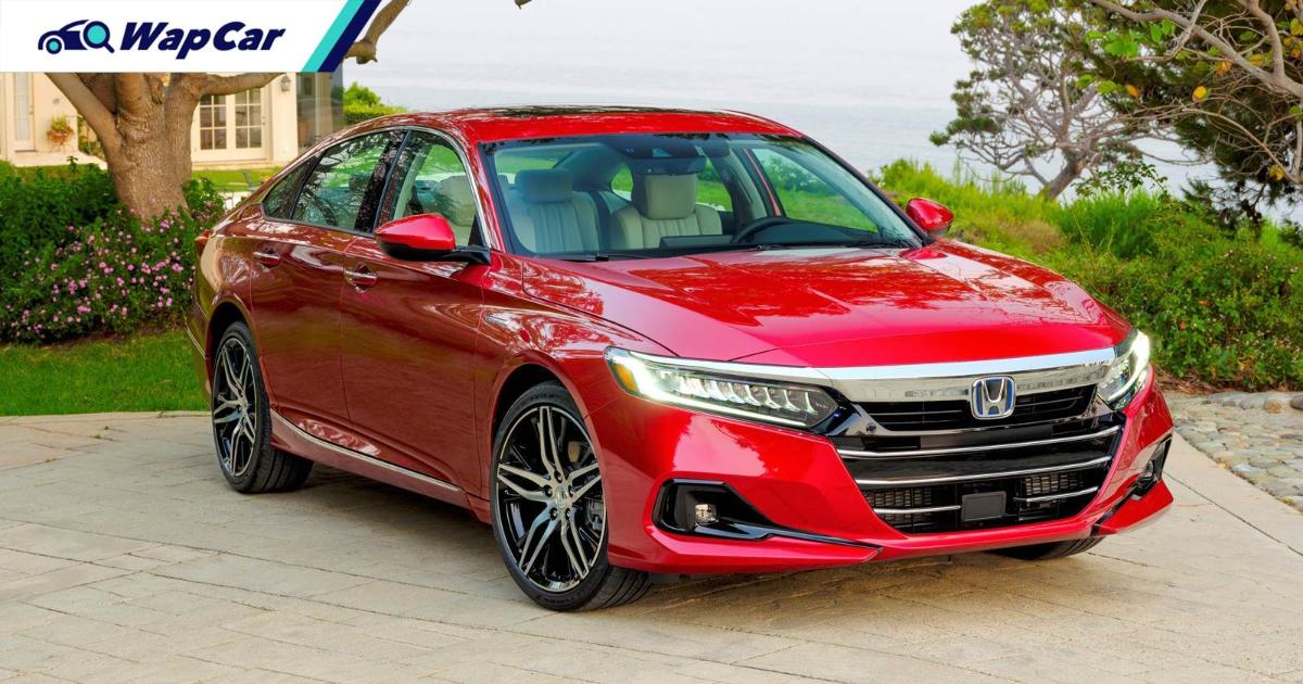 New 2021 Honda Accord gets updated Sensing and i-MMD hybrid, wireless Android Auto 01