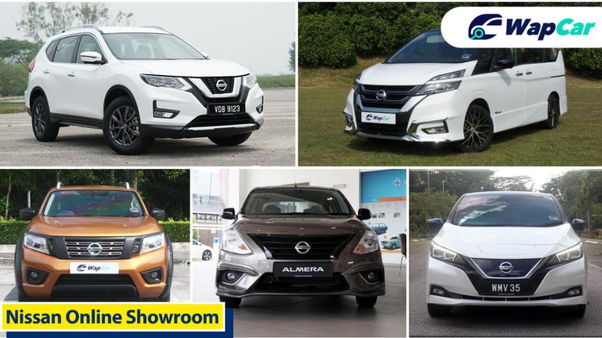 Purchase your dream Nissan through virtual showroom 01