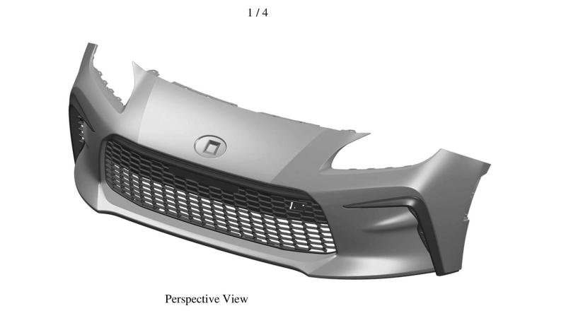 Leaked: Patent images of the 2021 Toyota GR86's aggressive front bumper! 02