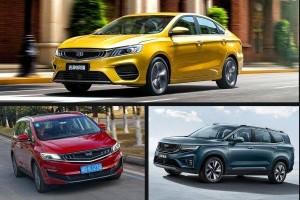 Geely Jiaji MPV, Binrui Sedan and Haoyue SUV launching in Philippines, what about Malaysia?