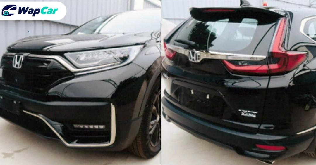 Spied: New 2020 Honda CR-V facelift seen in Vietnam, Malaysia debut by 2021? 01