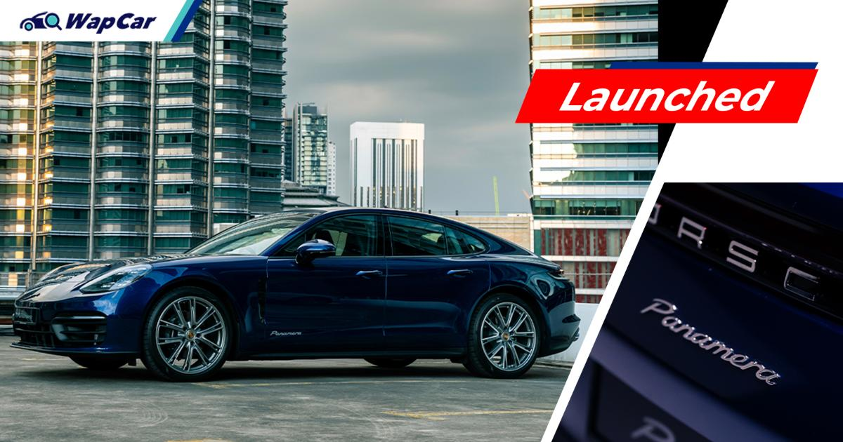 Launched in Malaysia - 2021 Porsche Panamera facelift is the perfect car for mid-life crises 01