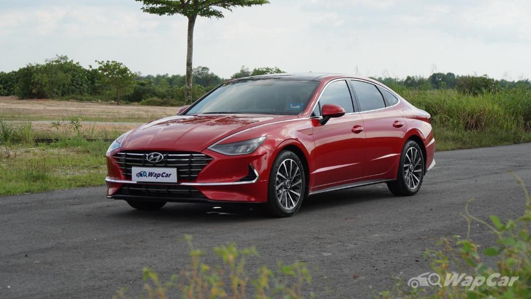2020 Hyundai Sonata 2.5 Premium Exterior 010