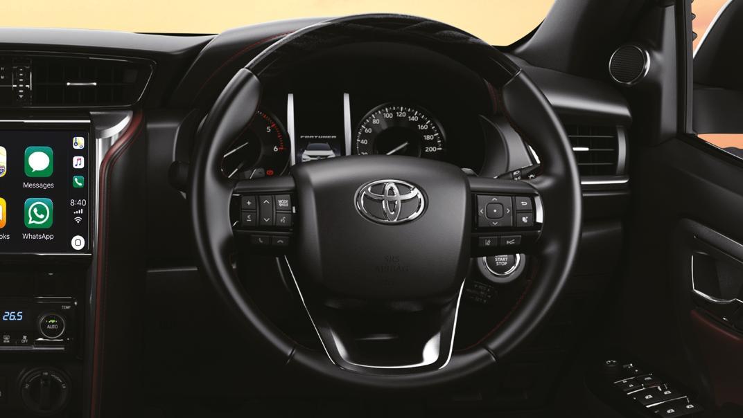2021 Toyota Fortuner 2.8 VRZ AT 4x4 Interior 003